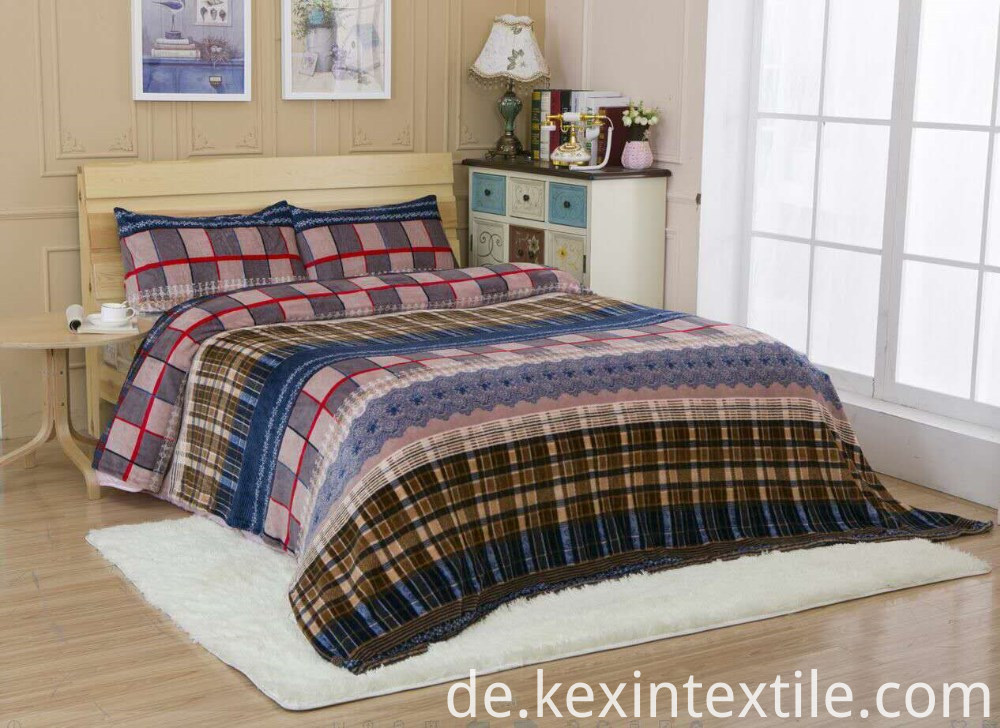 Flannel Blanket Bedding