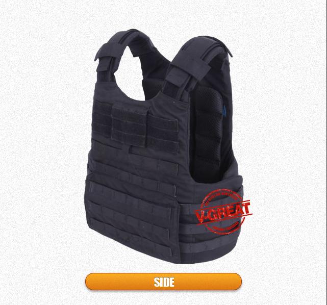 Nij Certified Ballistic Vest V-Tac032 with Quick Release Handle