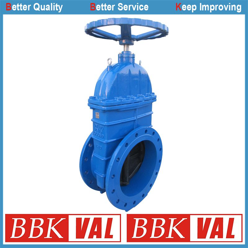 Gearbox Spur Gear DIN352 F4 Resilient Seated Gate Valve