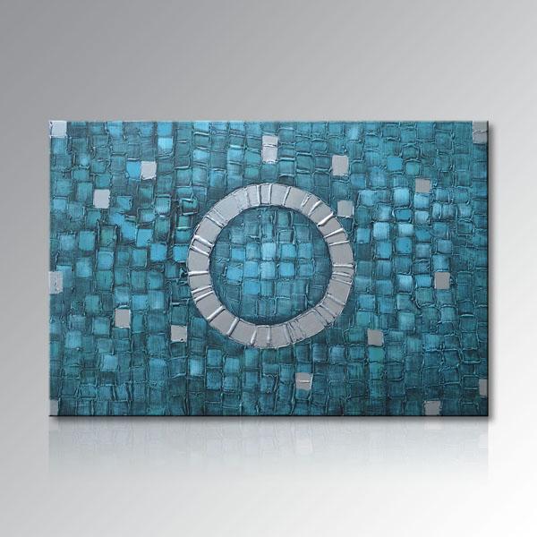 Handmade Modern Oil Painting on Canvas Abstract Art