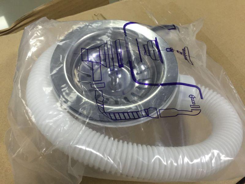 Sanitary Ware 860*500mm Single Bowl Granite Sink (HB8202)