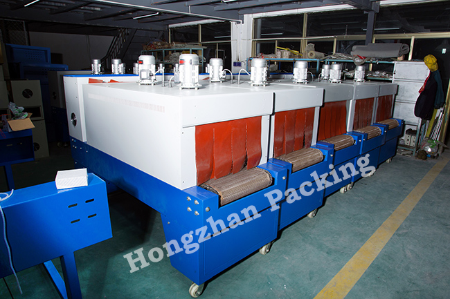 Impulse Heat Shrink Tunnel Stove Furnace Oven Packaging Machine Packing Device with Quartz Tube for Beverage Plastic Case