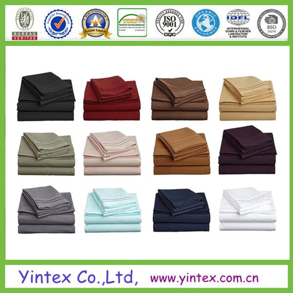 Soft Like Egyptain Cotton Microfiber Bed Sheet Sets