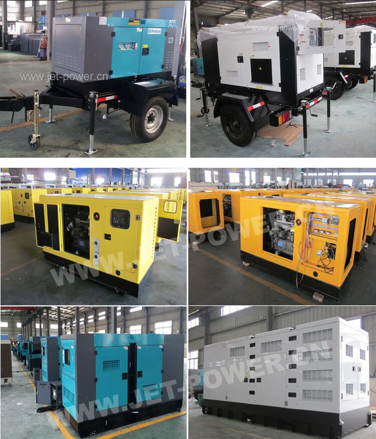48kw 60kVA Generator and Price with Doosan dB58 Diesel Engine