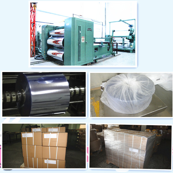 Pharmaceutical Grade Rigid Clear PVC Film