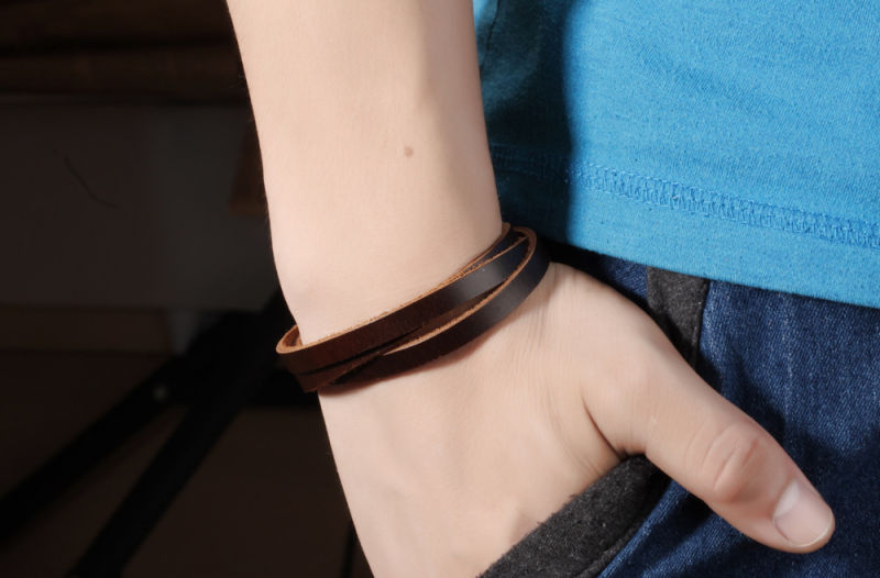 Fashion Accessories Leather Bracelet Leather Jewelry (LB427)