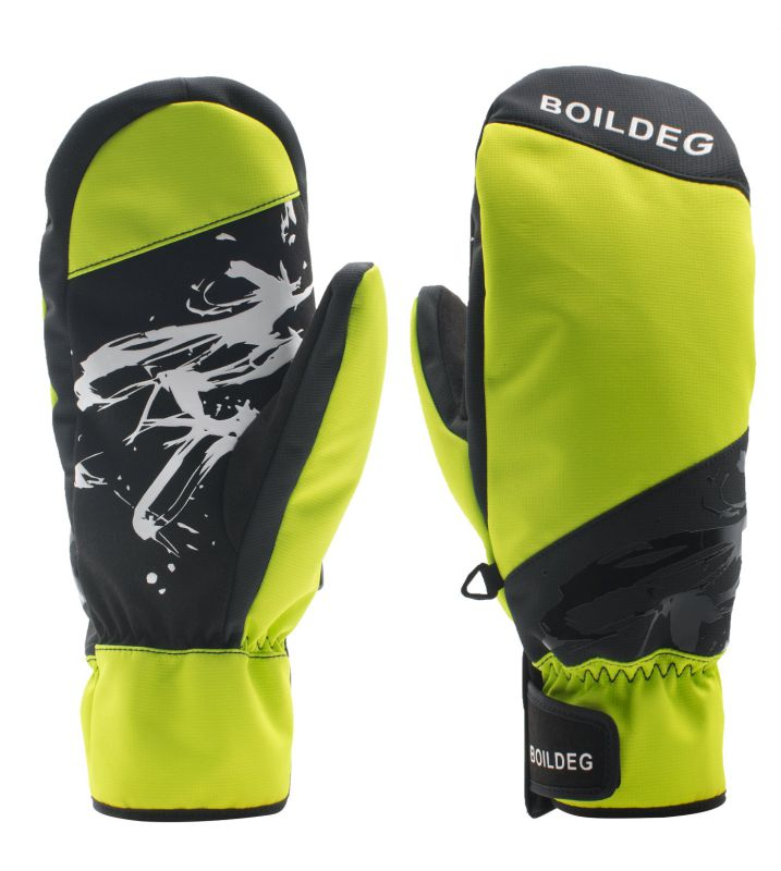 Top Quality Logo Printed Warm Keeping Ski Outdoor Gloves