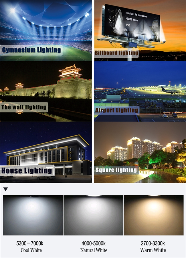 High Power Outdoor LED Floodlight for Advertisement (180W)
