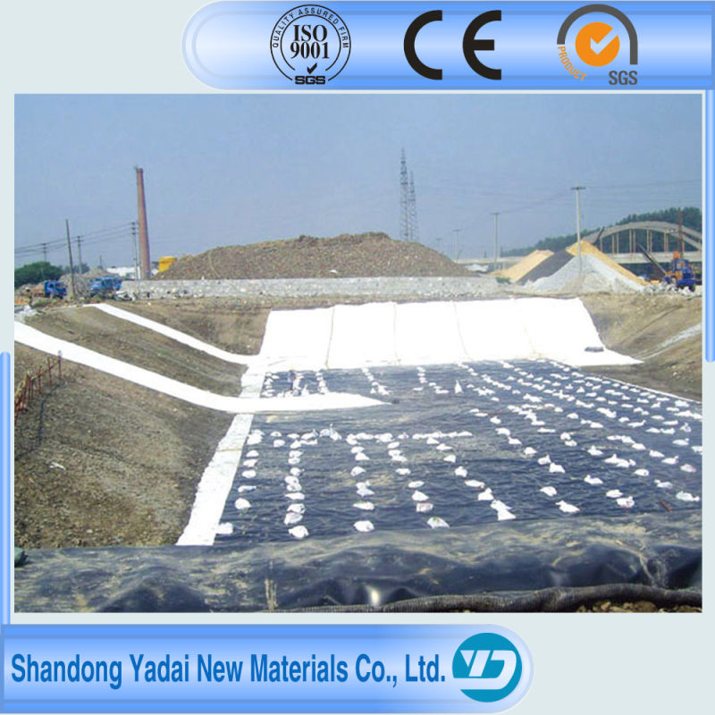HDPE/LDPE/LLDPE/PVC/EVA Geomembrane Used for Contaminated Site