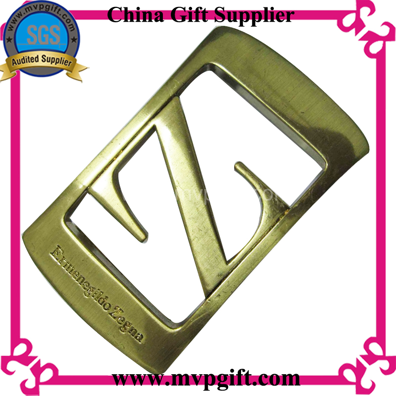 High Quality Metal Belt Buckle with 3D Logo Engraving