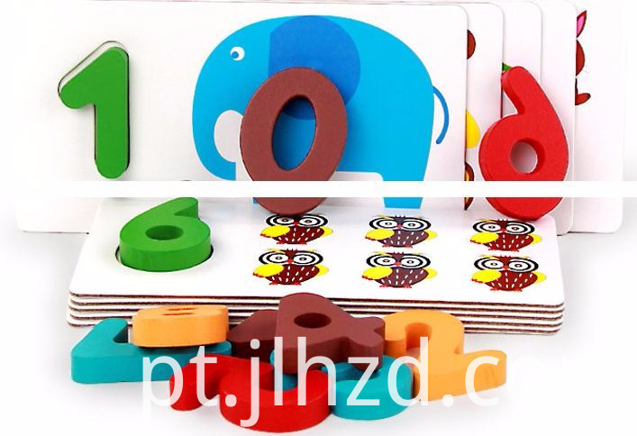 Animal Cognitive Board Wood Toy