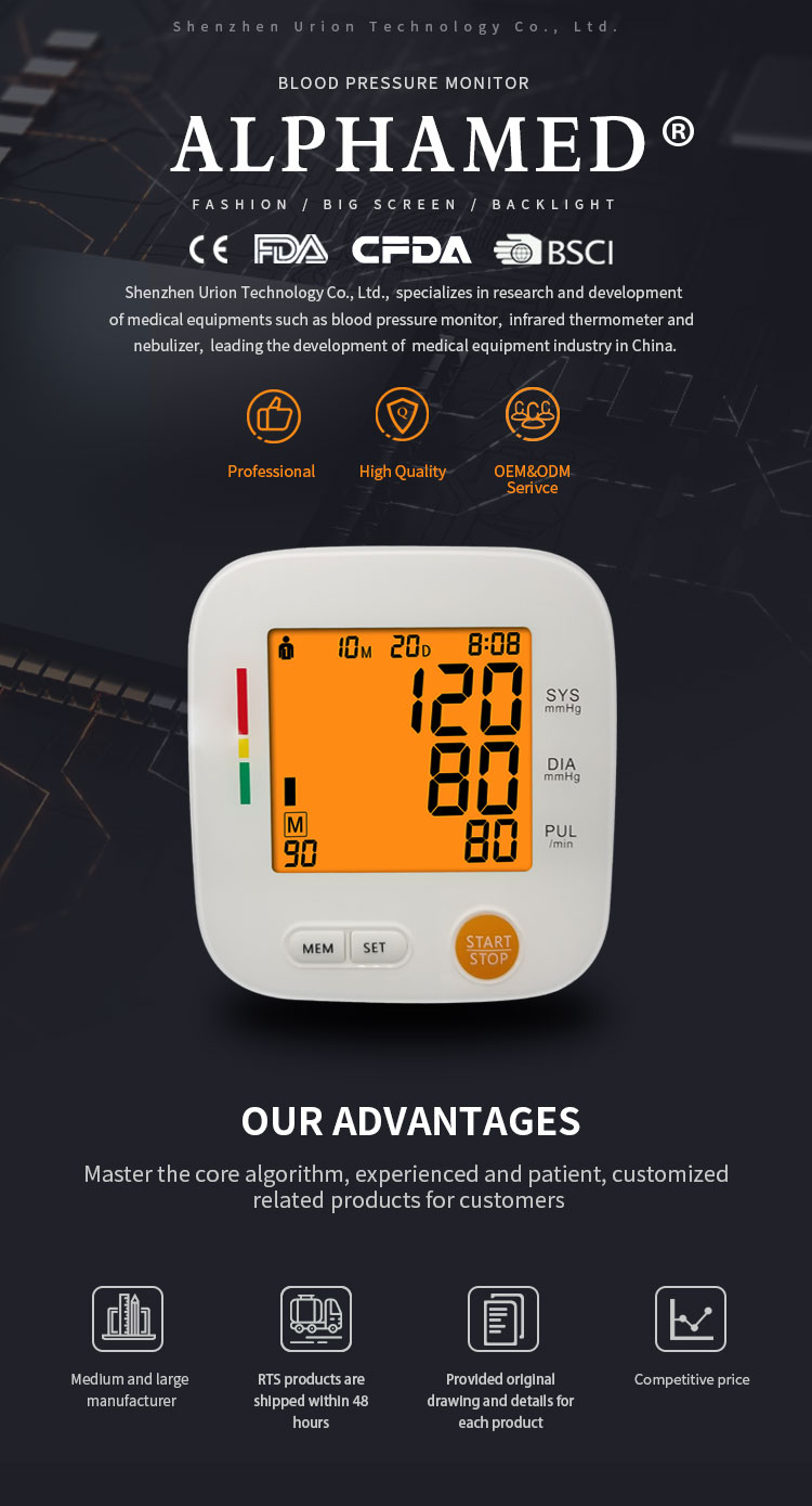 Medical CE FDA Approved Sphygmomanometer Doctor