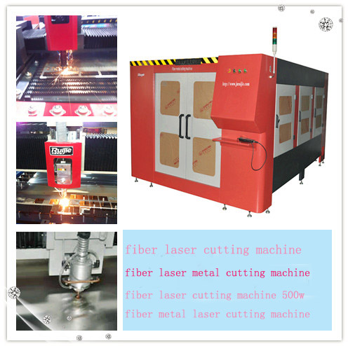 Overseas Hot Product Fiber Laser Cutting Machine Rj1530 with 500W