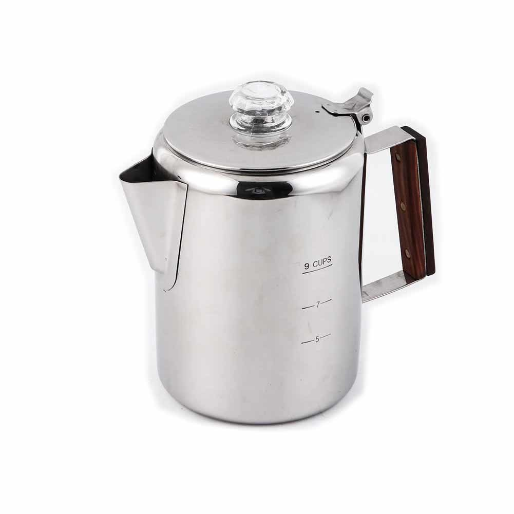 Household coffee pot made of stainless steel