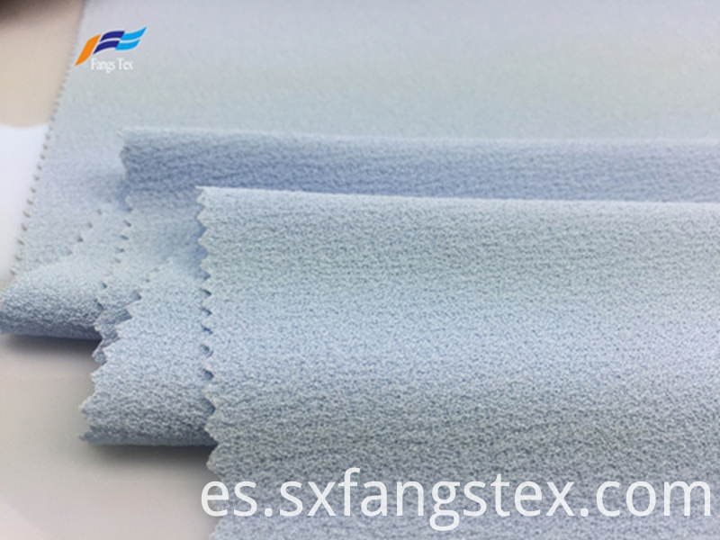 100% Polyester Fleece Crepe Dyed PD Clothing Fabric 3