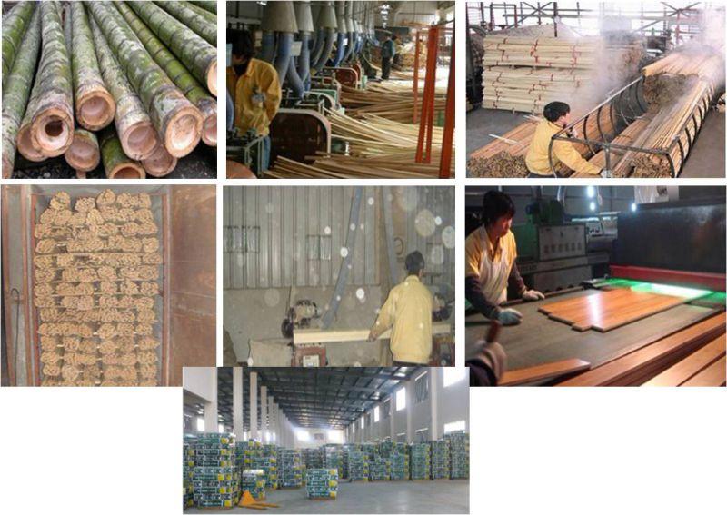 Tiger Strand Woven Bamboo Flooring UV Lacquer