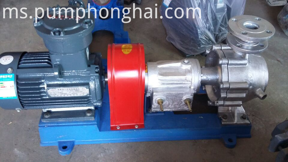 Stainless steel material pump with water-cooled equipment