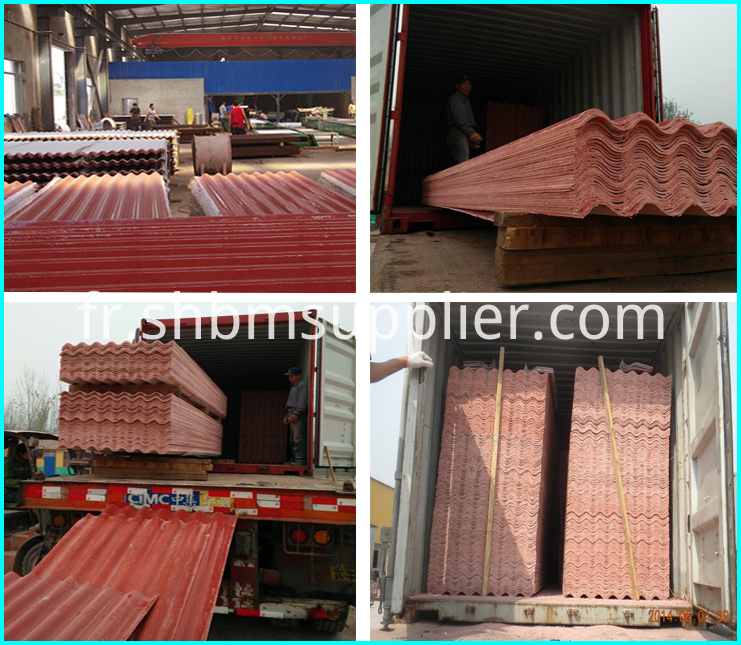 High strength redland roof tiles
