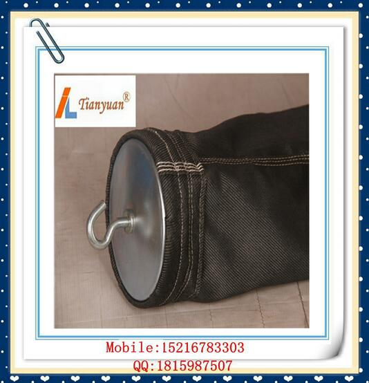 Carbon Black Non Alkali Fiberglass Filter Bag with E-PTFE