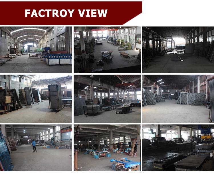 TPS-043 Design Iron Exterior Factory Bank Security Door Colors