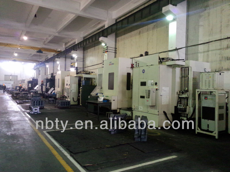 injection moulding machinery