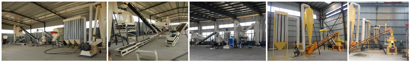 Wood Pellet Manufacturing Machine