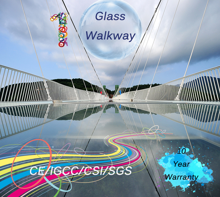 laminated walkway glass