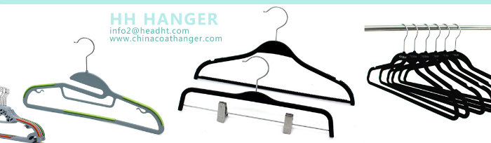 Frozen White Plastic Clothes Hanger with White Adjustable Clips Bottom Coat Hanger