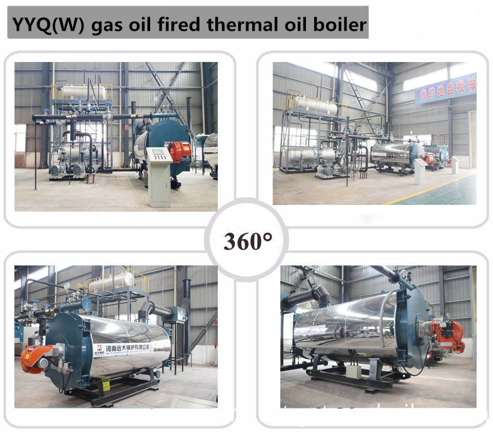 10 Gcal Diesel Fired Thermal Oil Heater Boiler