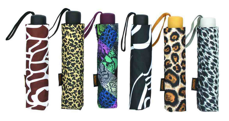 Animal Skin Design 3 Fold Manual Light Umbrella (YS-3FM21083940R)