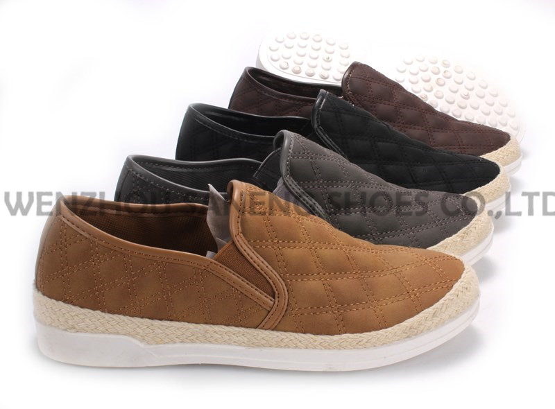 Women's Shoes Leisure PU Shoes with Rope Outsole Snc-55005