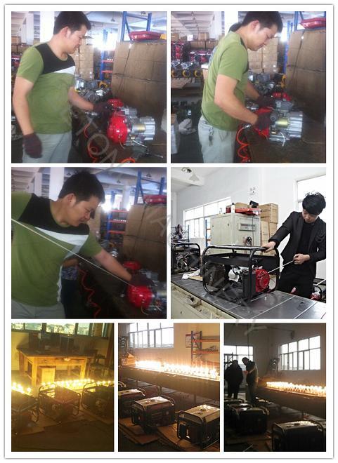 1.5kw-6kw Portable Gasoline Kerosene Generator with Low Price