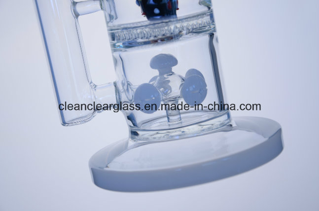 Manufacturer Wholesale Hand-Blown Glass Water Pipe Smoking Pipe