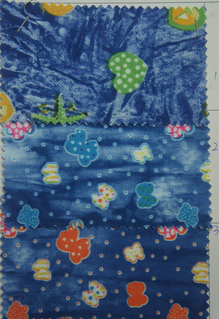 900d Polyester Printing Fabric with PVC or PU Coating
