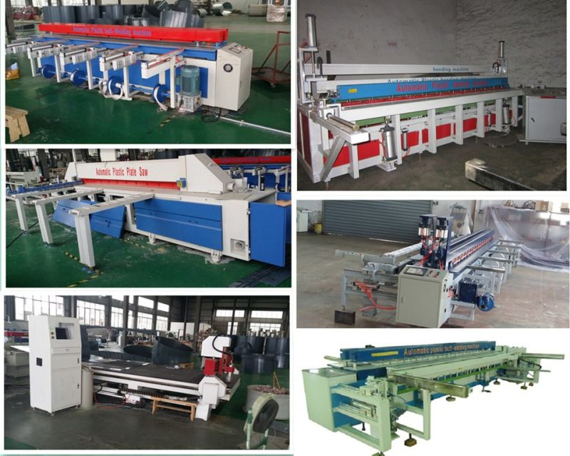 CNC PP/PE Plate Cutting Saw