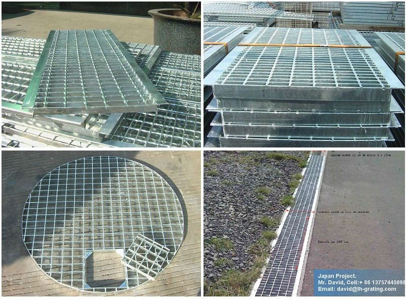 Hot Dipped Galvanized Floor Grating for Drain Cover