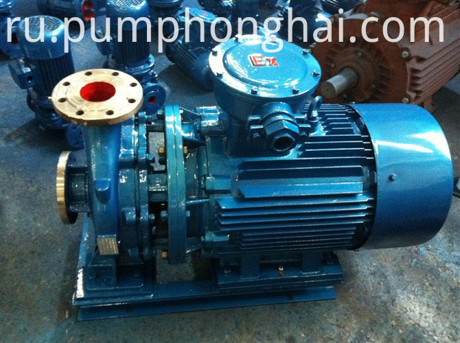ISW stainless steel material pump