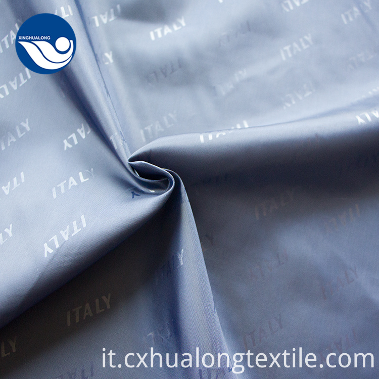 Custom Logo Fabric