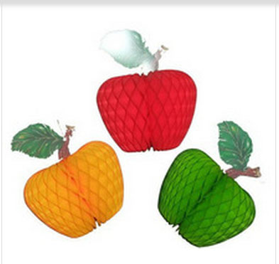 2015 Tissue Paper Fruit Honeycomb Decoration Kit