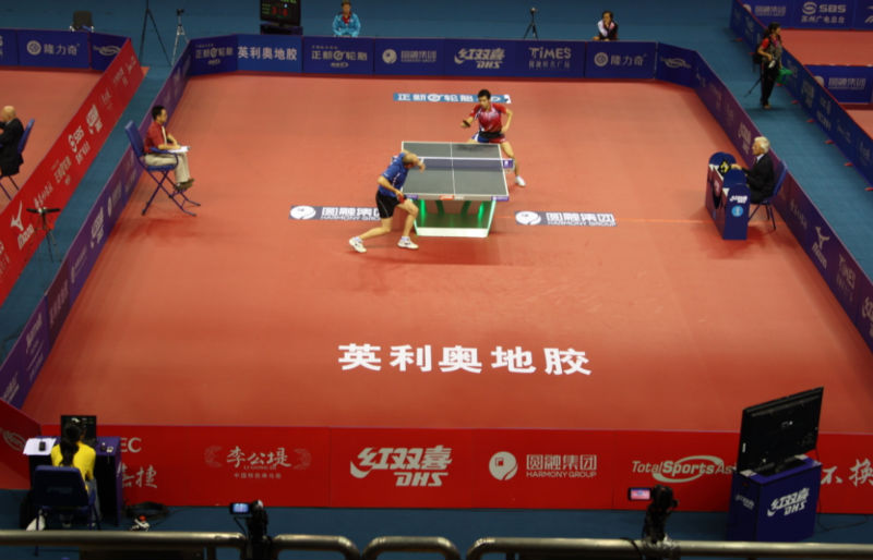 table tennis event
