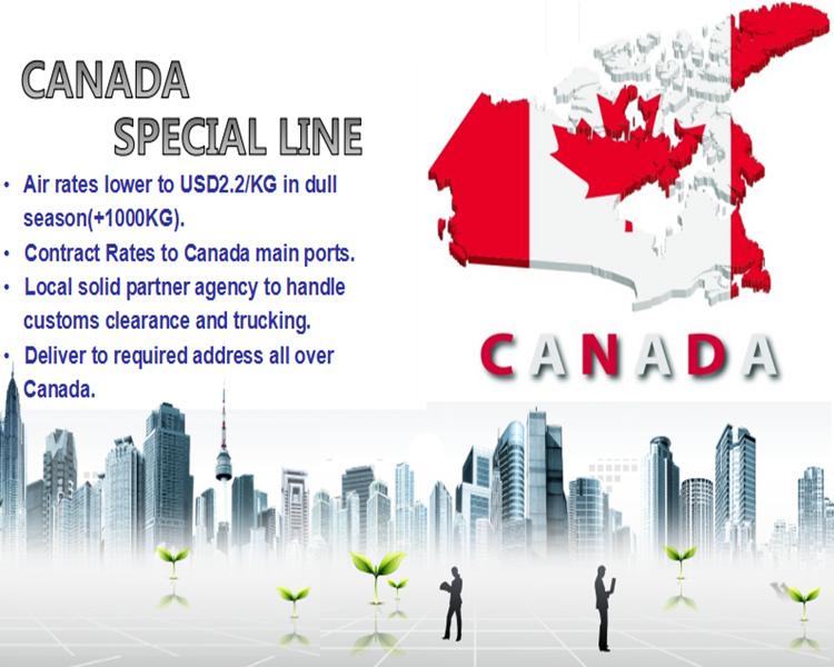 China Cargo Shipping to Canada
