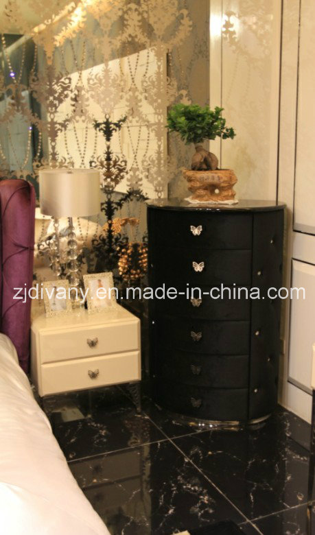 Post-Modern Style Wood Bedroom Furniture