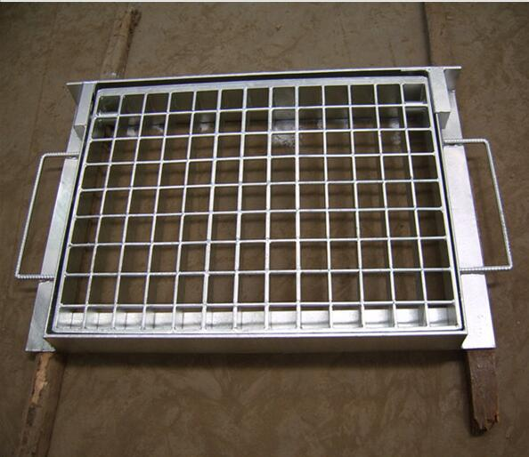 Hot Dipped Galvanized Catwalk Drainage Ditch Cover