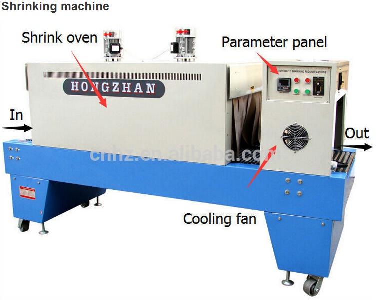 St6030 High Efficiency Internal Circulation Bottle Heat Shrink Sleeve Machine