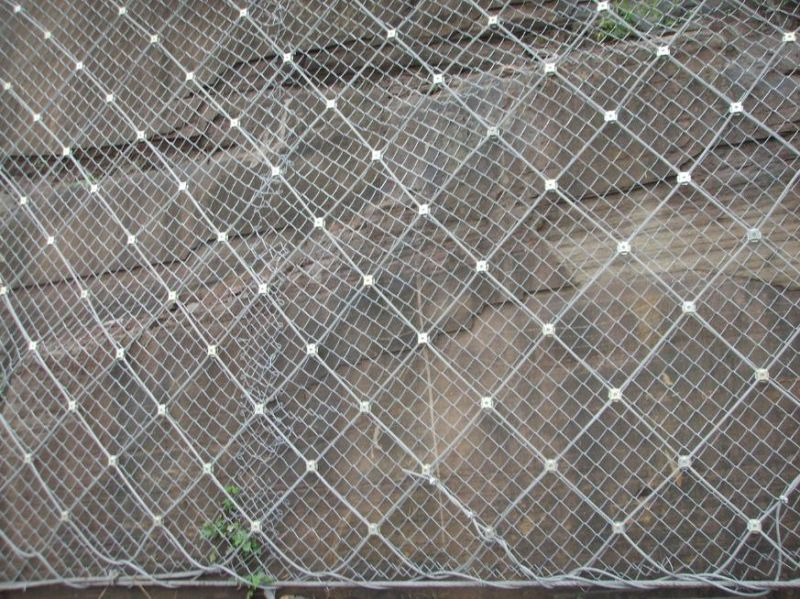 Active Slope Protection System/ Spider Spiral Rope Mesh Net/ Rockfall Netting