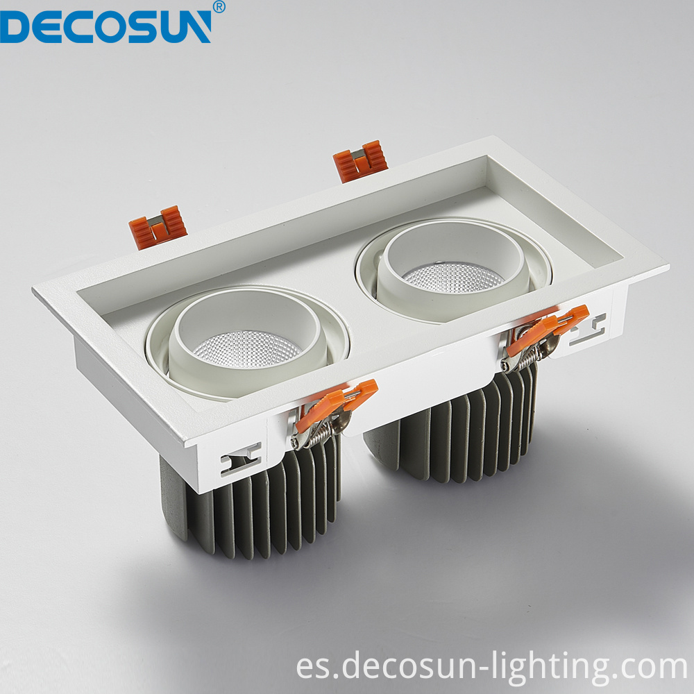 Square LED Ceiling Downlights