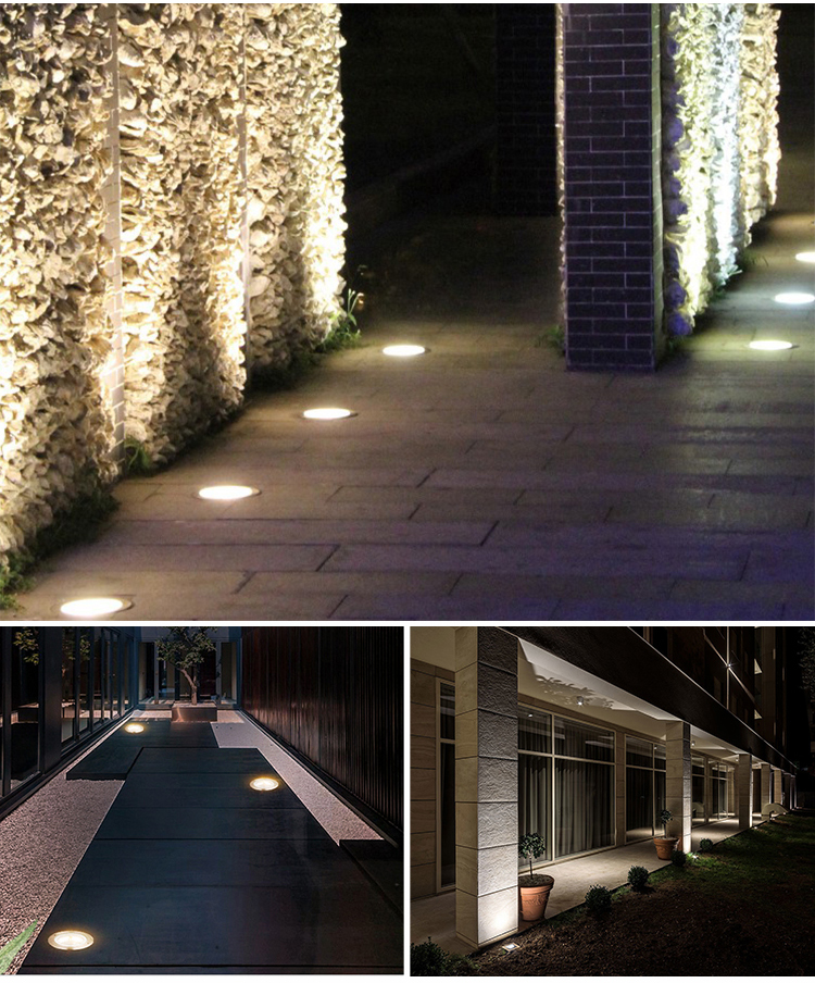 Waterproof Outdoor Uplights