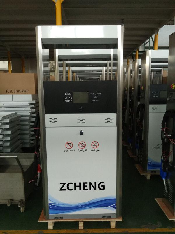 ZCHENG Petrol Station Electric Fuel Dispenser (Single Nozzle or Double Nozzle)