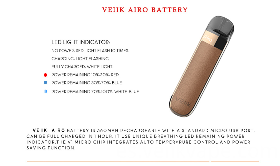 Luxury Leather Version Veiik Airo