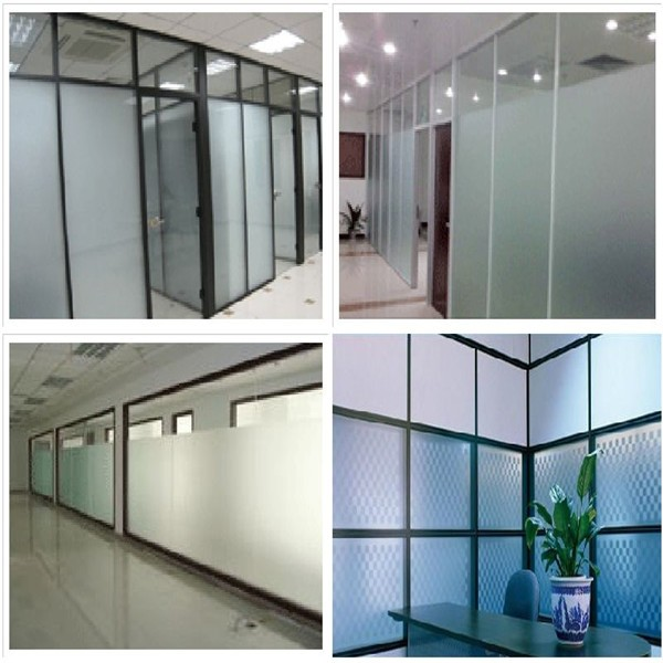 Frosted Partition Glass